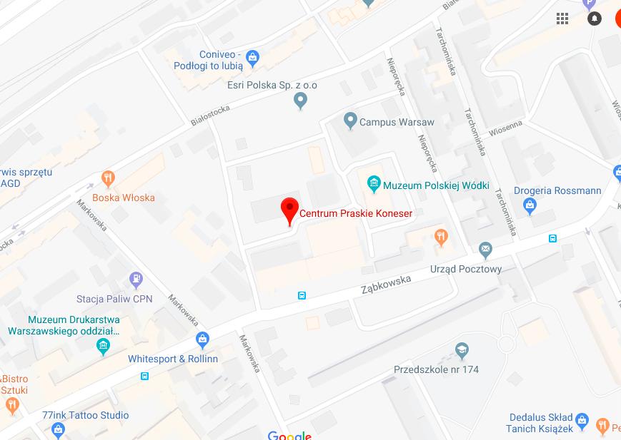 Mapa koneser