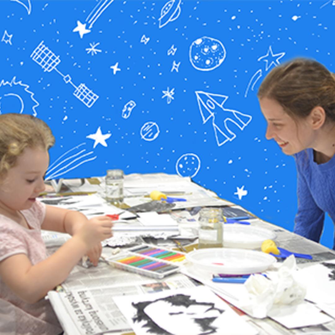 kosmos i szkoła rysunku